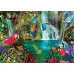 Educa-18457 Tropical Parrots
