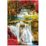 Educa-18461 Waterfall in deep Forest