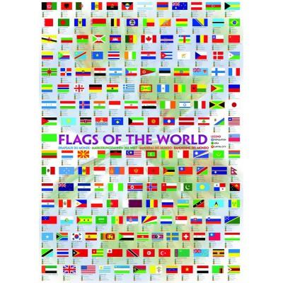 Eurographics-6000-0128 Drapeaux du monde