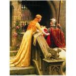 Eurographics-6000-0130 Edmund Blair Leighton : Dieu te protège