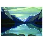 Eurographics-6000-0136 Maligne Lake, Jasper Park, 1924