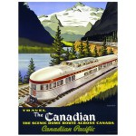 Eurographics-6000-0322 Canadian Pacific Rail The Canadian