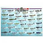Eurographics-6000-0379 Avion de chasse Seconde Guerre Mondiale - Les Alliés