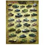 Eurographics-6000-0388 Char de la Seconde Guerre Mondiale