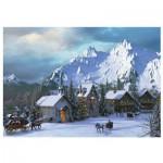 Eurographics-6000-0426 Davison - Noël dans les Rocheuses