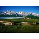 Eurographics-6000-0547 Montagnes de Sawtooth - Idaho