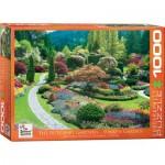 Eurographics-6000-0700 The Butchart Gardens Sunken Garden