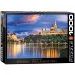 Eurographics-6000-0739 Ottawa - Vue sur le Parlement