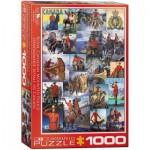 Eurographics-6000-0777 Royal Canadian Mounted Police
