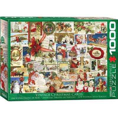 Puzzle Anciennes Cartes De No L Eurographics 6000 0784 1000 Pi Ces Puzzles No L