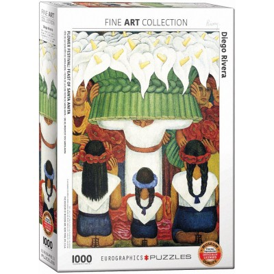 Eurographics-6000-0798 Diego Rivera - Flower Festival