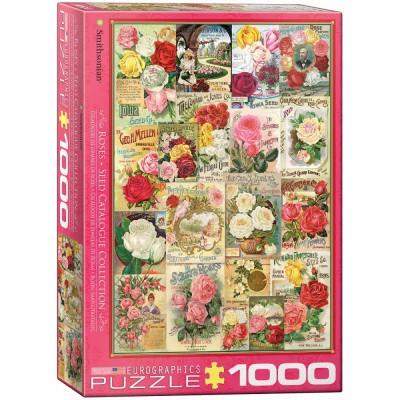 Puzzle Catalogue De Graines De Roses Eurographics 6000 0810 1000 Pi Ces Puzzles D Co Et Objets