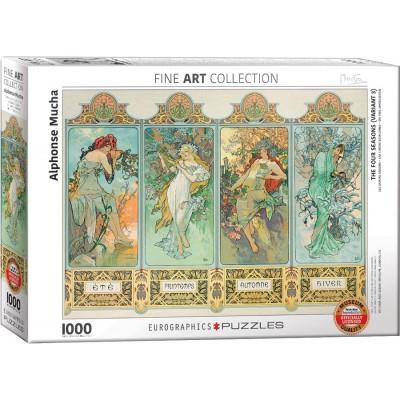 Eurographics-6000-0824 Mucha Alfons : Four Seasons