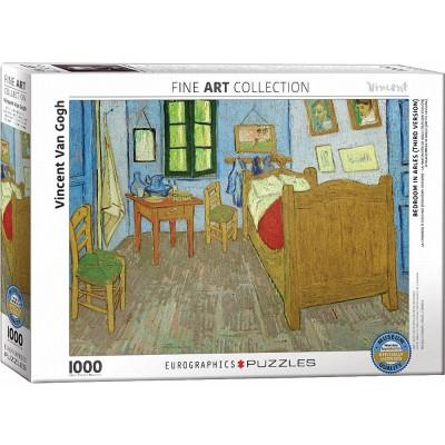 Puzzle vincent van gogh la chambre en arles eurographics 6000 0838 1000 pi ces puzzles art - Chambre a arles van gogh ...