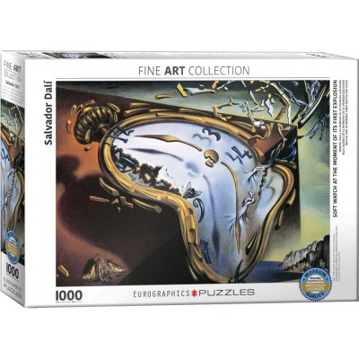 Eurographics-6000-0842 Dalí Salvador : Les Montres Molles