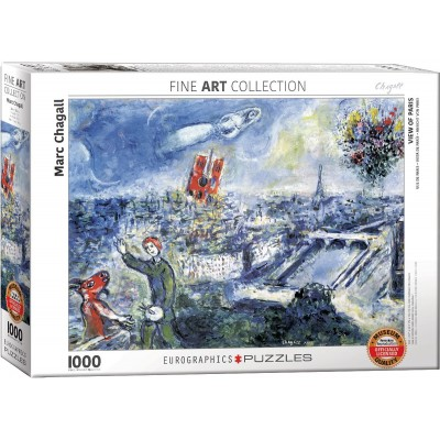Eurographics-6000-0850 Chagall Marc - Le Bouquet de Paris