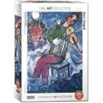 Eurographics-6000-0852 Marc Chagall - Le Violoniste Bleu