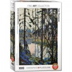 Eurographics-6000-0922 Study for Northern River by Tom Thomson