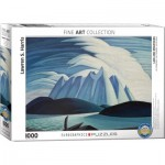 Eurographics-6000-0924 Lake and Mountains by Lawren Harris