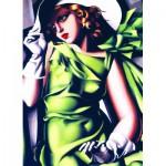 Eurographics-6000-1058 Tamara De Lempicka : Jeune Fille en Vert
