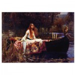 Eurographics-6000-1133 Waterhouse : The Lady of Shalott, 1888