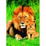 Eurographics-6000-1148 Le lion et son petit
