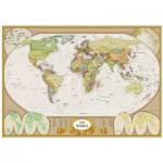 Eurographics-6000-1272 Carte du monde moderne