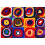 Eurographics-6000-1323 Kandinsky : Etude de couleurs de carrés