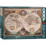 Eurographics-6000-1997 Carte du Monde Antique