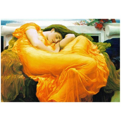 Eurographics-6000-3214 Frederick Lord Leighton : Flaming June
