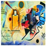 Eurographics-6000-3271 Kandinsky Wassily : Jaune, Rouge, Bleu