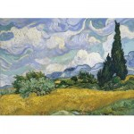 Eurographics-6000-5307 Van Gogh Vincent - Wheat Field with Cypresses