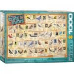 Eurographics-6000-5327 American State Birds