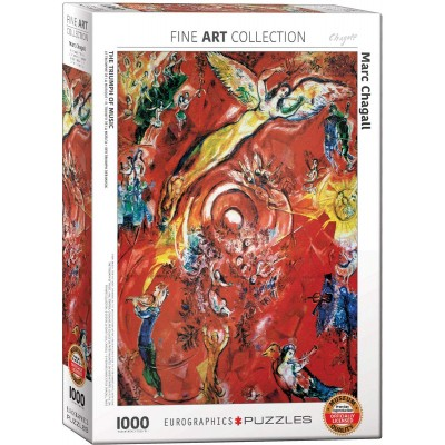Eurographics-6000-5418 Marc Chagall - Le Triomphe de la Musique