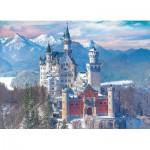 Eurographics-6000-5419 Neuschwanstein en Hiver, Allemagne