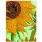 Eurographics-6000-5429 Vincent Van Gogh : Vase avec Douze Tournesols (détail)