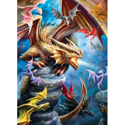 Eurographics-6000-5475 Anne Stokes - Clan de Dragons