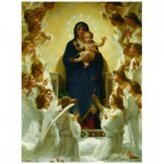 Eurographics-6000-7064 William A. Bouguereau : Vierge avec Anges