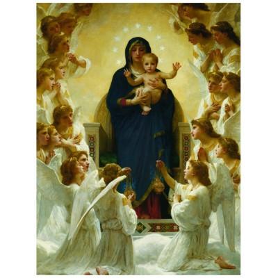 Eurographics-6000-7064 William A. Bouguereau : Vierge avec Anges