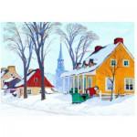 Eurographics-6000-7190 Gagnon : un matin d'hiver dans la Baie-St-Paul