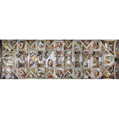 Eurographics-6010-0960 The Sistine Chapel Ceiling by Michelangelo