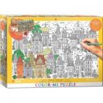 Eurographics-6033-0882 Color Me XXL - Maisons de Ville