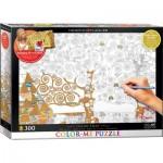 Eurographics-6033-0921 Color Me XXL - Gustav Klimt : L'Arbre de la Vie