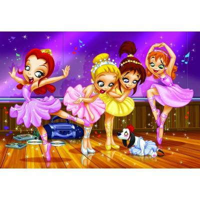 Eurographics-6100-0414 Go Girls Go! - Ballet