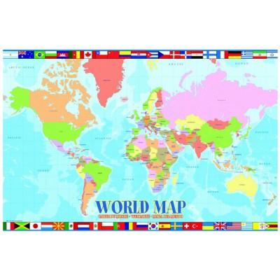 Eurographics-6100-1271 Carte du monde