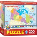 Eurographics-6200-0797 Carte du Canada