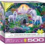Eurographics-6500-5363 Pièces XXL - Licornes en Terre de Fées