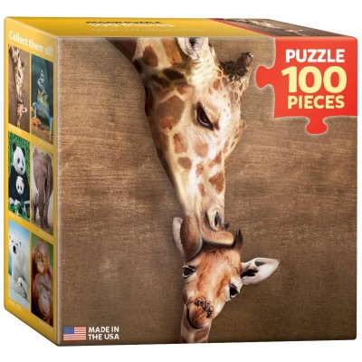 Eurographics-8104-0301 Mini Puzzle - Girafes