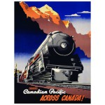 Eurographics-8104-0324 Canadian Pacific Rail - Travel CPR