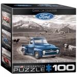Eurographics-8104-0668 Mini Puzzle - 1954 Ford F-100